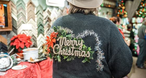 Ugly Sweater Party Returns to A Framer's Touch on December 19