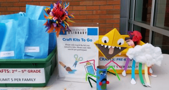 Craft Prep Crew – A Volunteer-at-Home Opportunity