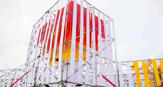 Renowned Artist Creates Large Scale Temporary Art for Community Exploration in Downtown Tigard