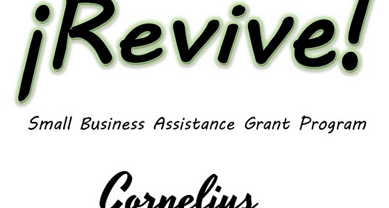 Cornelius ¡Revive! Small Business Assistance Grant Program Applications Available Starting Wednesday, July 22