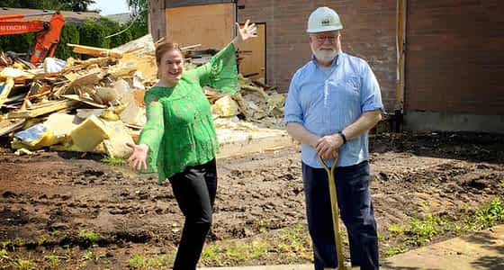 Broadway Rose Theatre Company Breaks Ground on Building Expansion